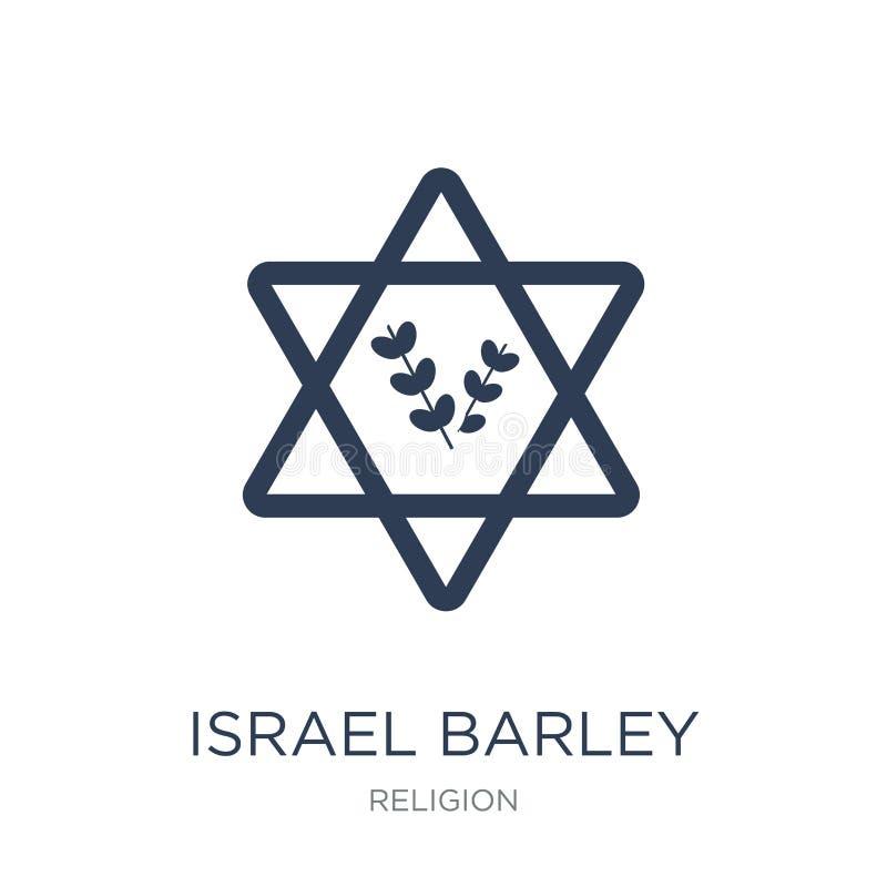 Значок ячменя Израиля  иллюстрация штока