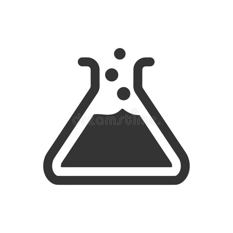Значок Beaker иллюстрация вектора