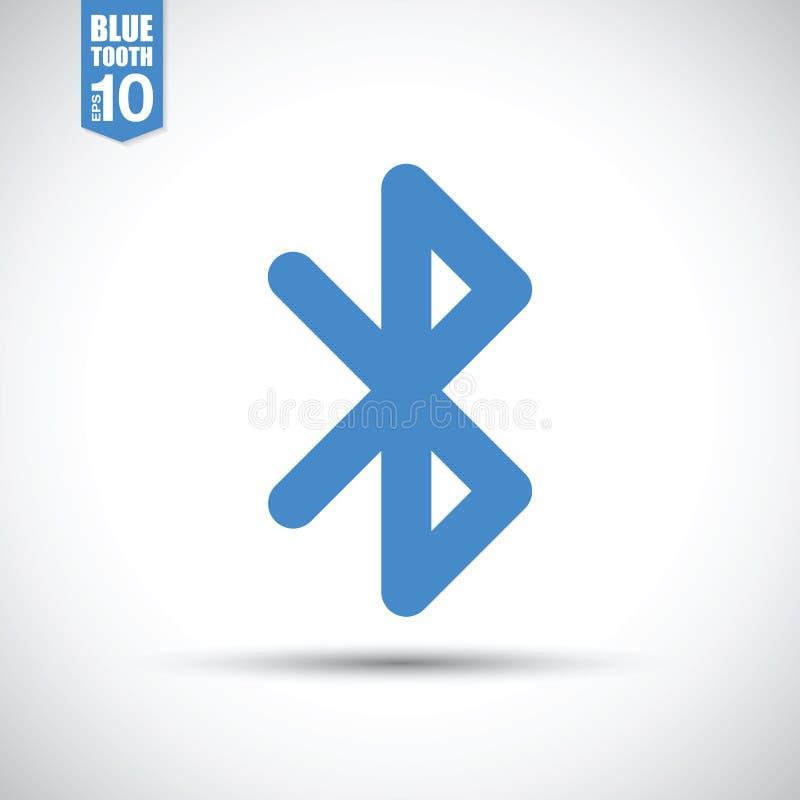 Значок Bluetooth иллюстрация вектора