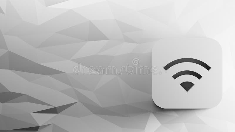 значок 3d wifi бесплатная иллюстрация
