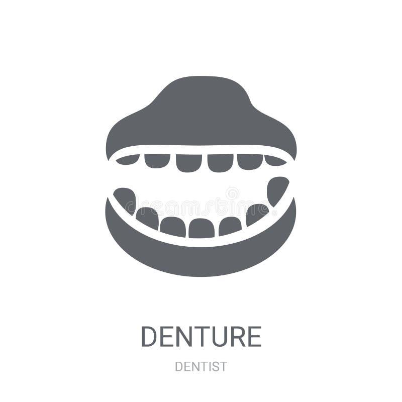 Значок Denture  иллюстрация штока