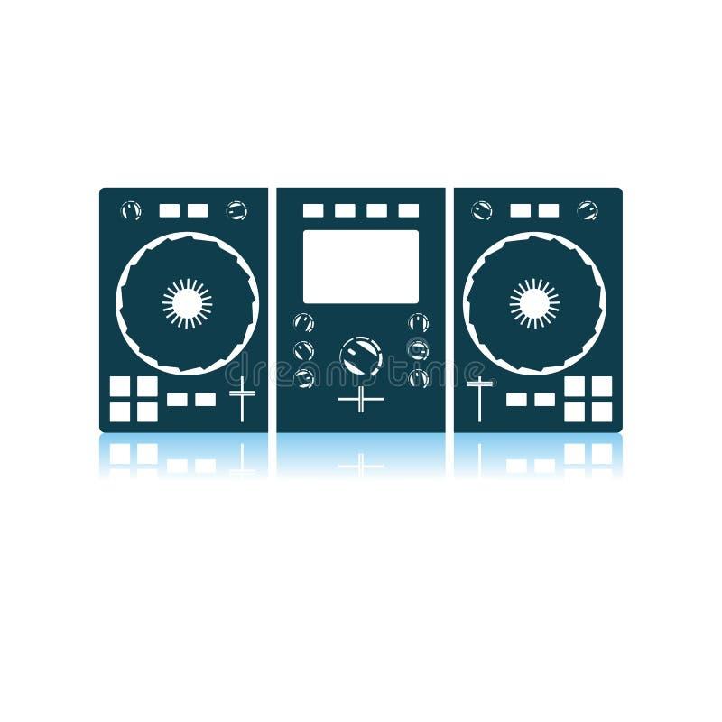 Значок DJ иллюстрация штока