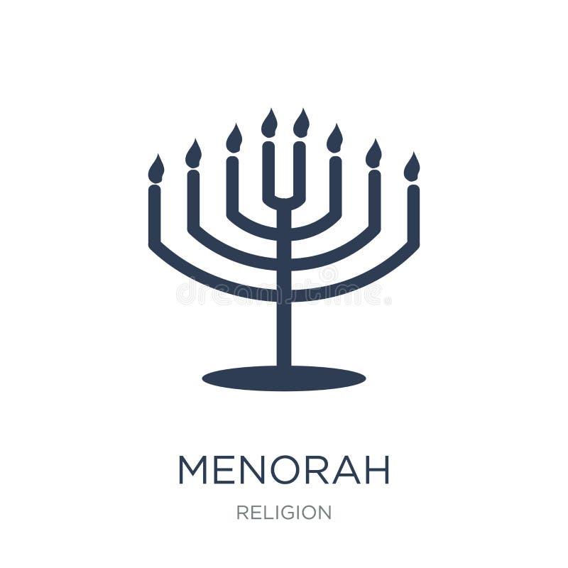 Значок Menorah  иллюстрация штока