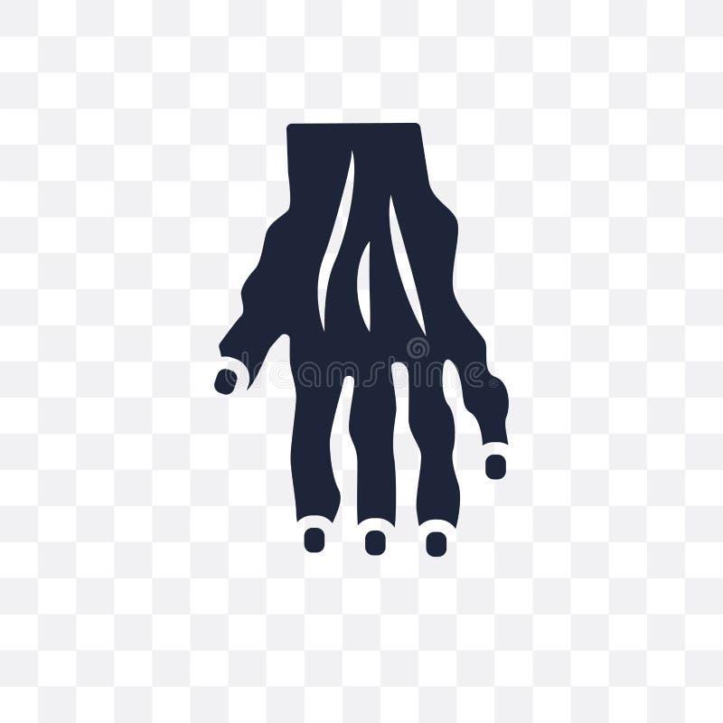 Значок Myelitis прозрачный Дизайн символа Myelitis от заболеваний иллюстрация штока
