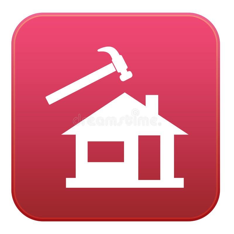 Значок Roofer/Слейтера бесплатная иллюстрация