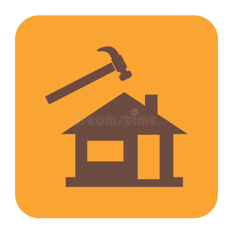 Значок Roofer/Слейтера иллюстрация штока