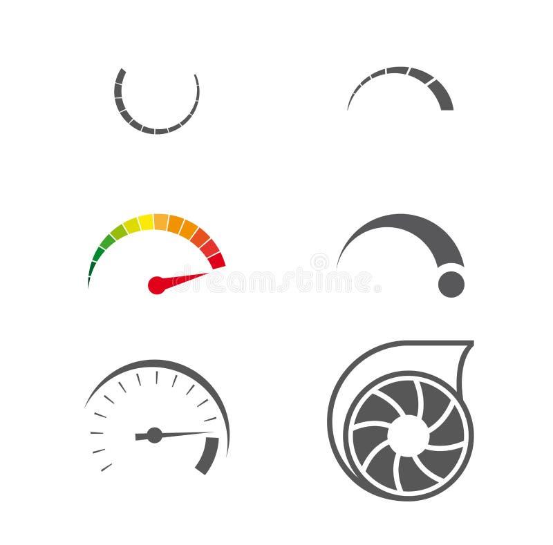 Значок Turbo иллюстрация вектора