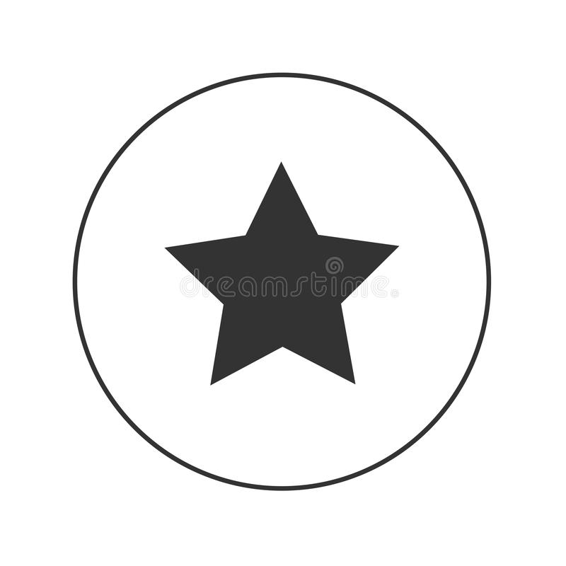 Значок wep звезды иллюстрация штока