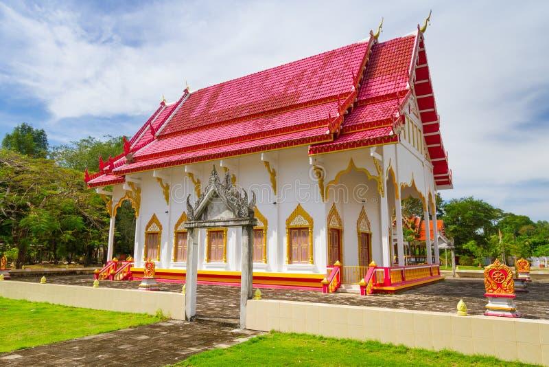 Зодчество виска будизма стоковое изображение rf
