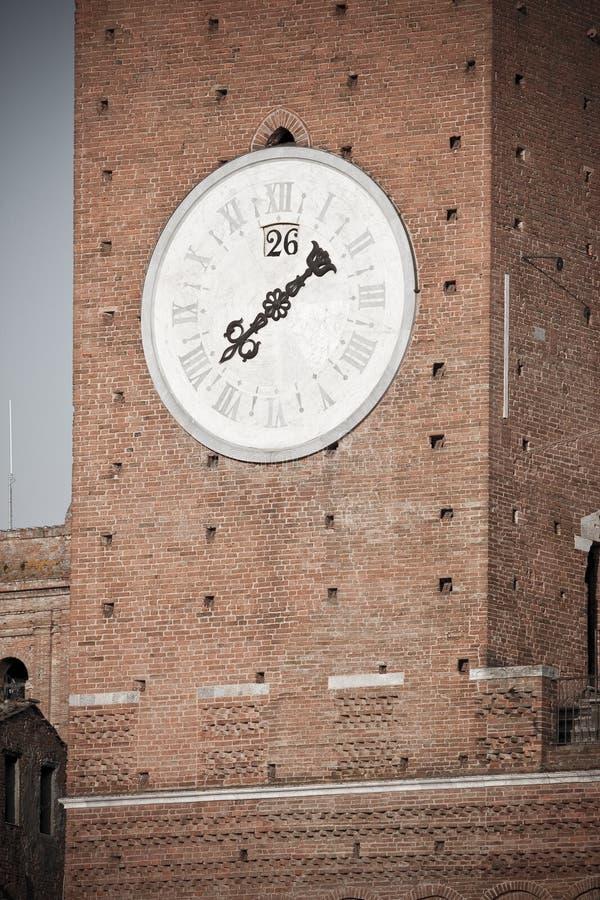 зодчество исторический siena стоковое изображение