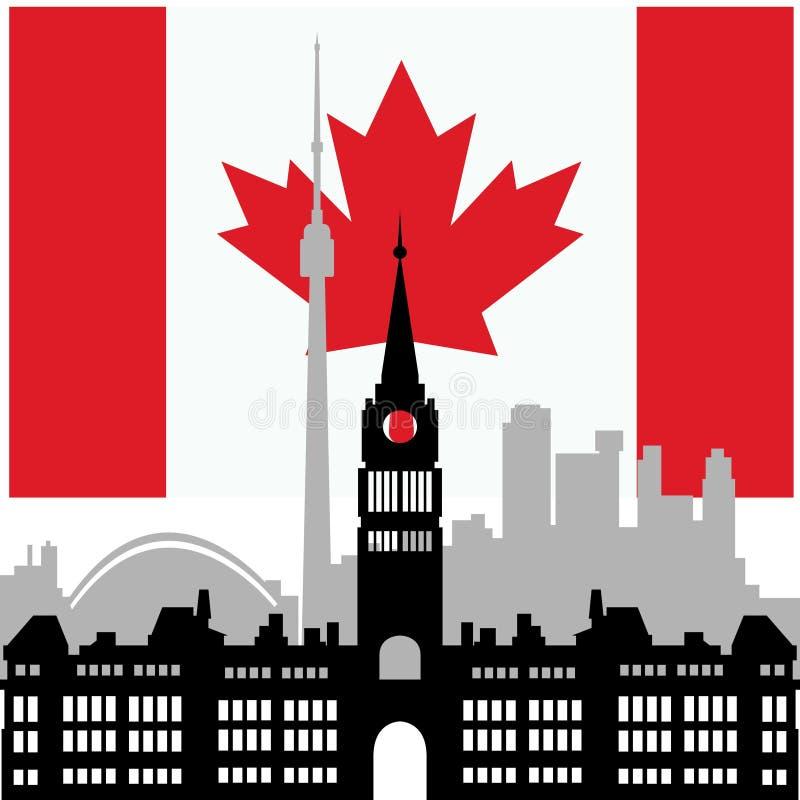Зодчество Канада бесплатная иллюстрация