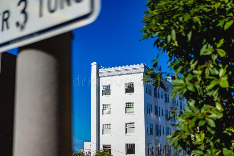 Зодчество Сан-Франциско стоковое изображение