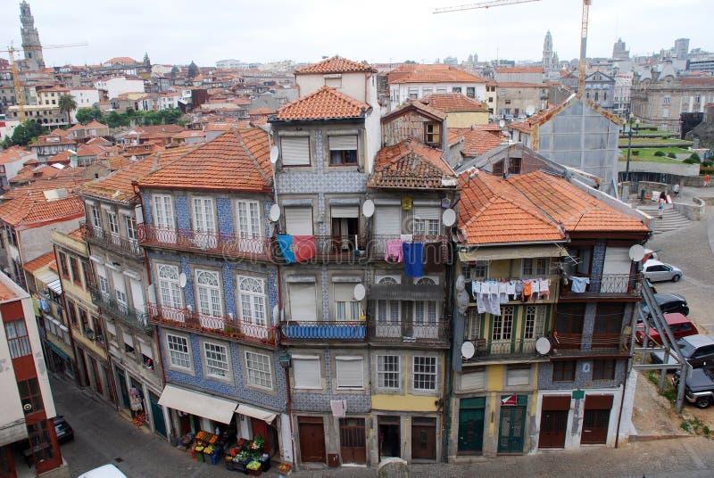 зодчество старый porto Португалия типичная стоковое фото rf