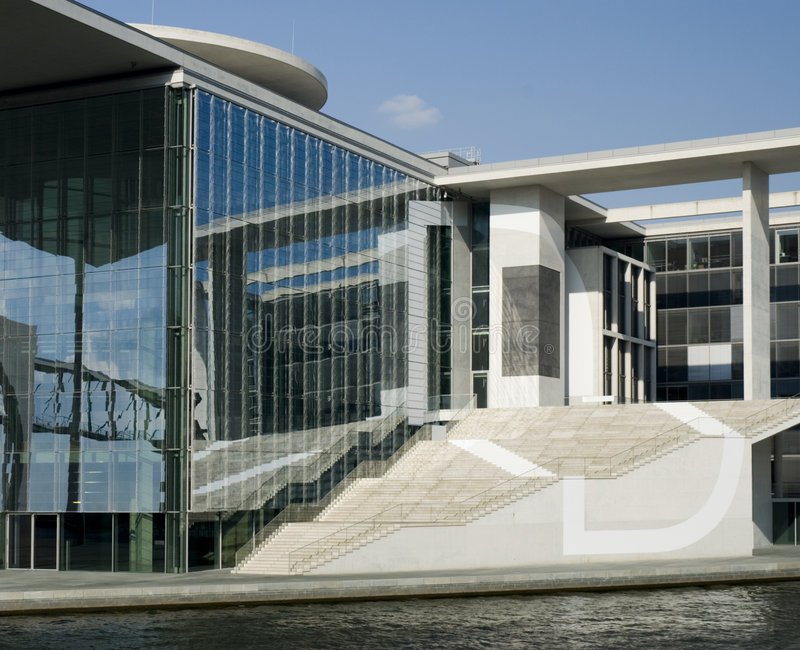 зодчество berlin самомоднейший стоковая фотография rf