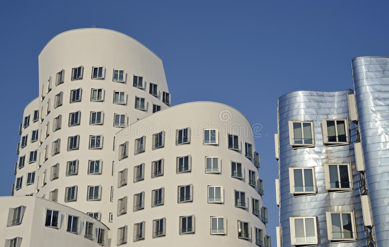 зодчество dusseldorf Германия типичная стоковая фотография rf