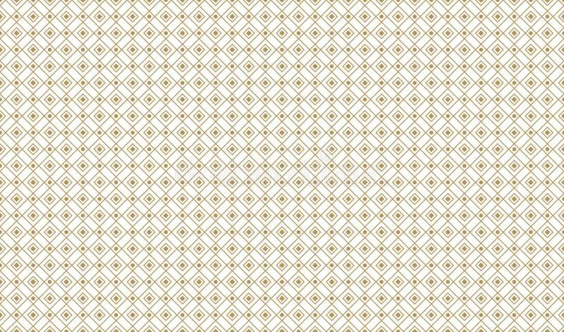 Золотая геометрическая увеличенная картина 9v2, иллюстрация штока