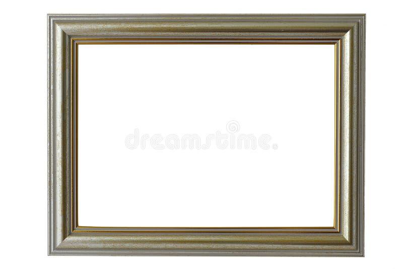 Золотая рамка багета стоковое фото rf