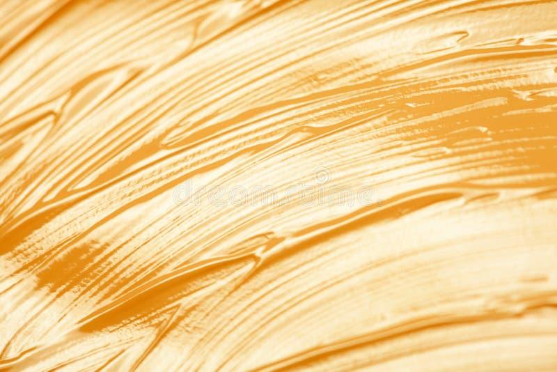 Золотая текстура краски стоковое изображение rf