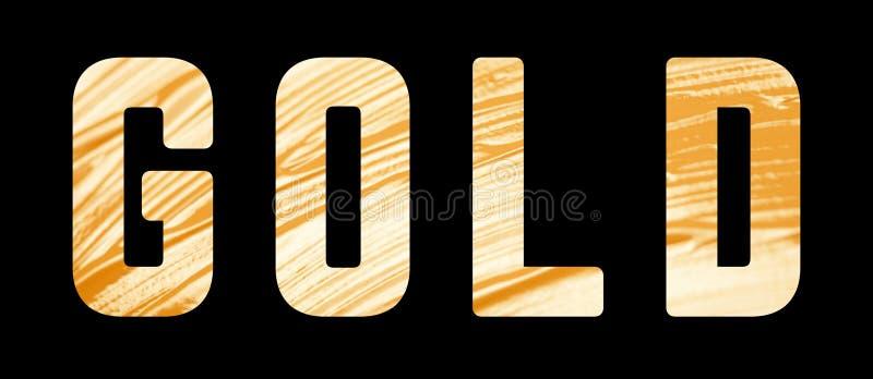 Золотая текстура краски стоковое фото rf