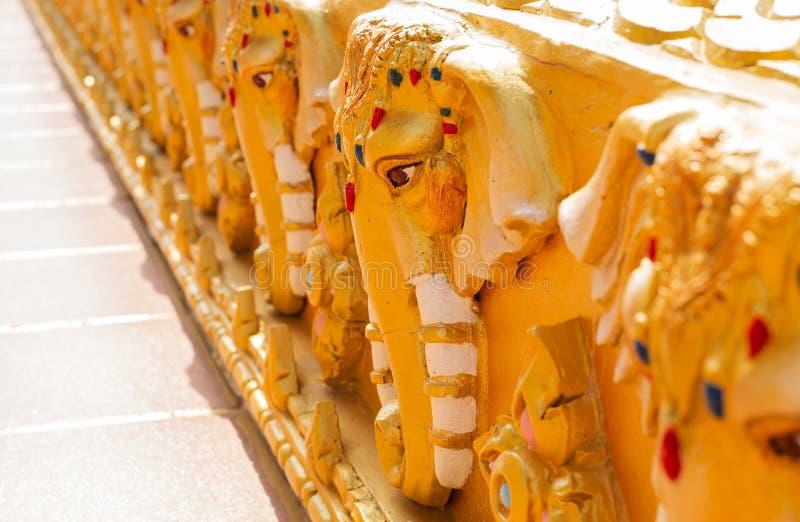 Золотая часть виска стоковое фото rf
