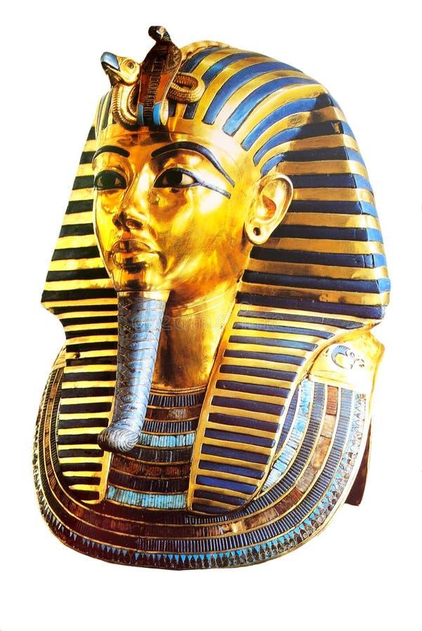 золотистая маска стоковое изображение