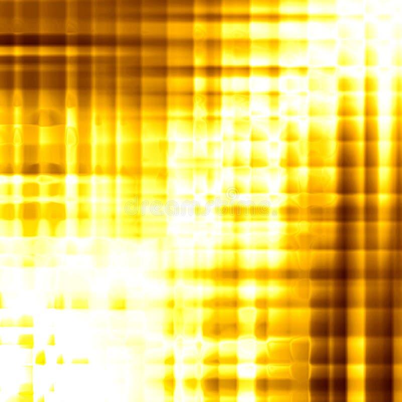 Золотистая предпосылка лоснистых квадратов бесплатная иллюстрация