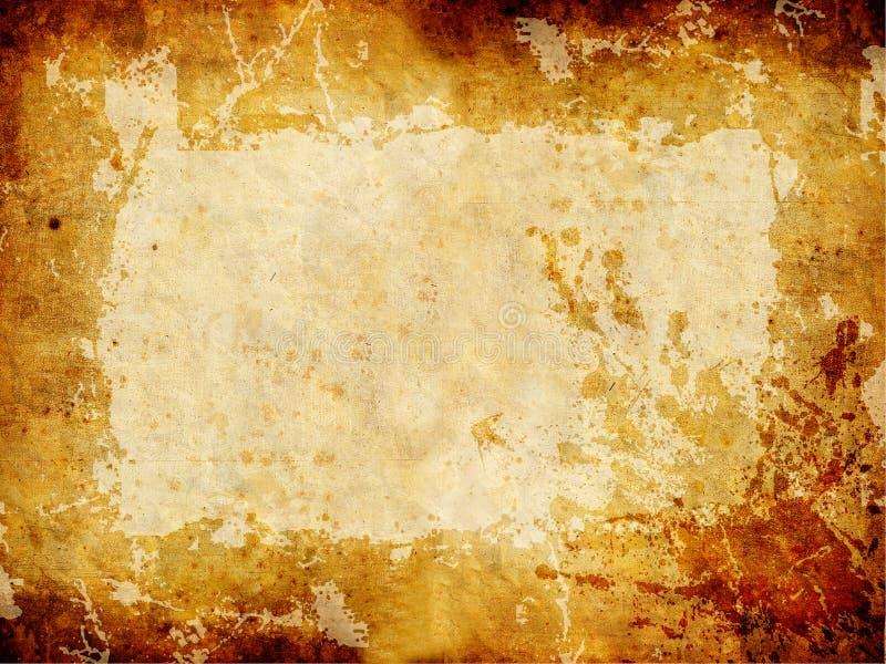 золотистая текстура grunge стоковое изображение rf