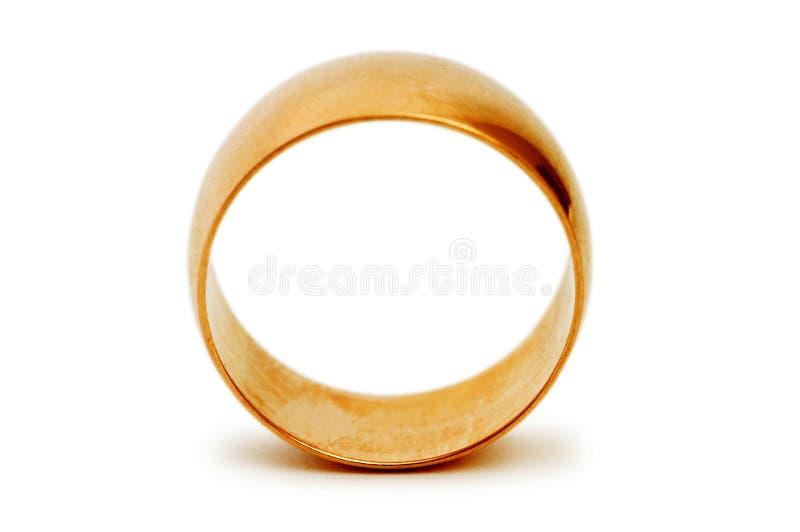 золотистое кольцо стоковое изображение