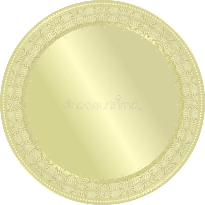 золотистое медаль бесплатная иллюстрация