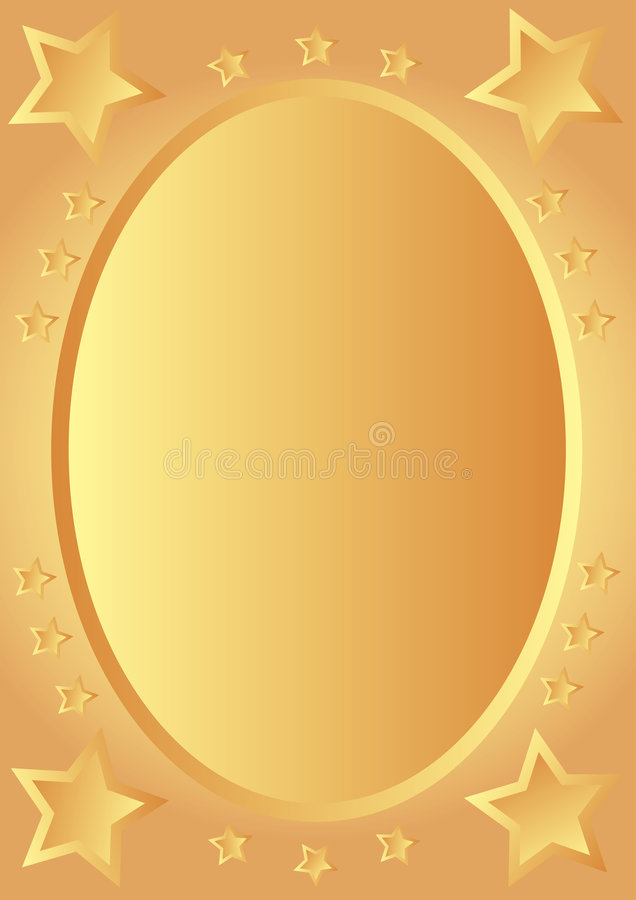 золотистые звезды бесплатная иллюстрация