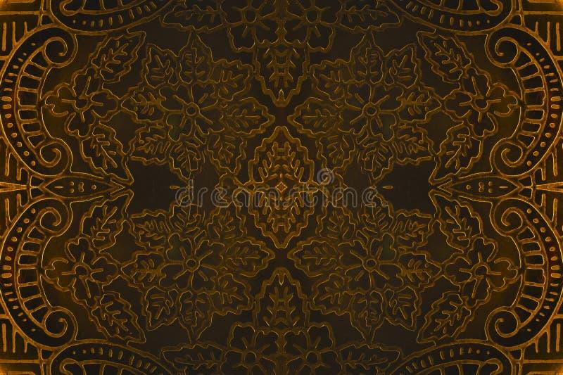 Золотистые кривые стоковые фотографии rf
