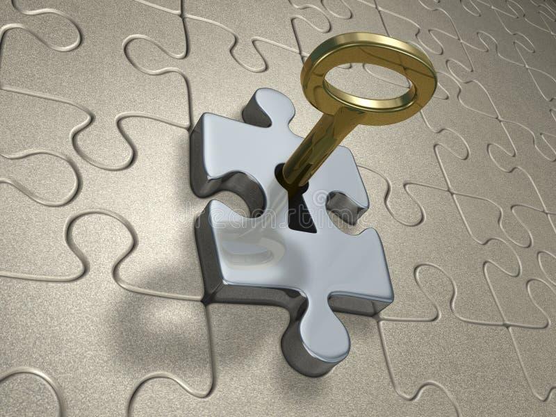 золотистый ключ