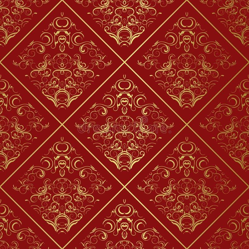 золотистый орнамент стоковое фото