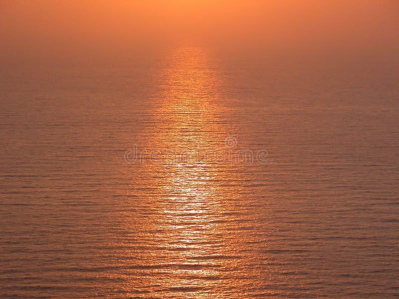 золотистый путь стоковое фото rf