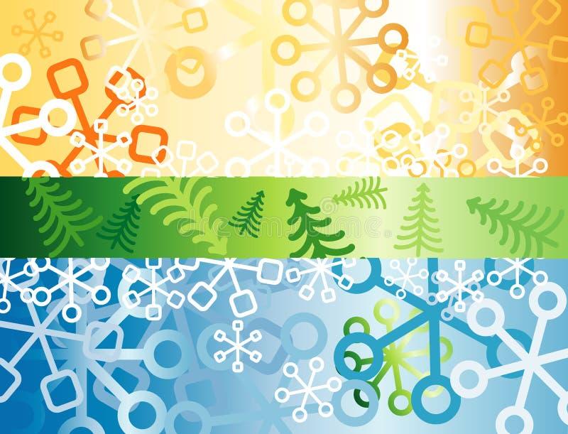 Download золотистый ретро снежок иллюстрация вектора. иллюстрации насчитывающей иллюстрация - 6861987