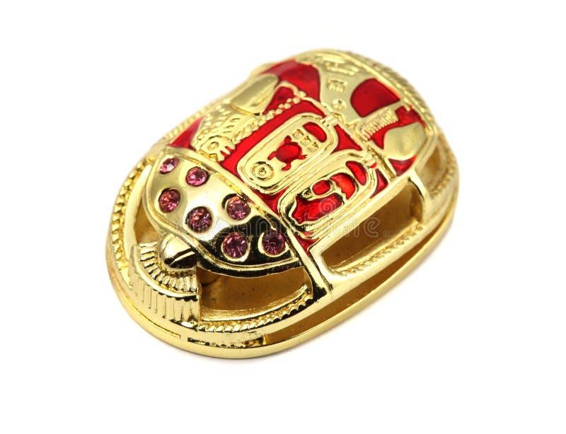 золотистый скарабей стоковые изображения