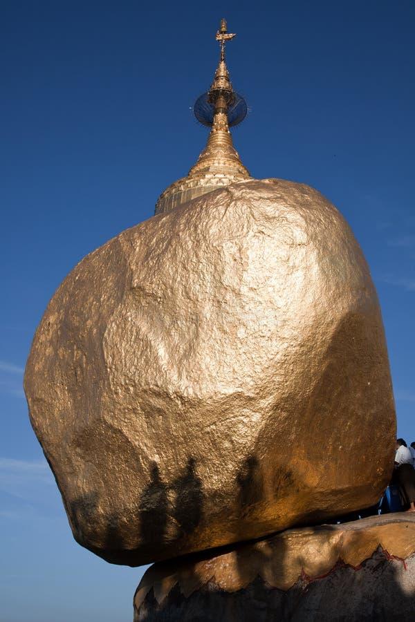 золотистый утес стоковая фотография rf