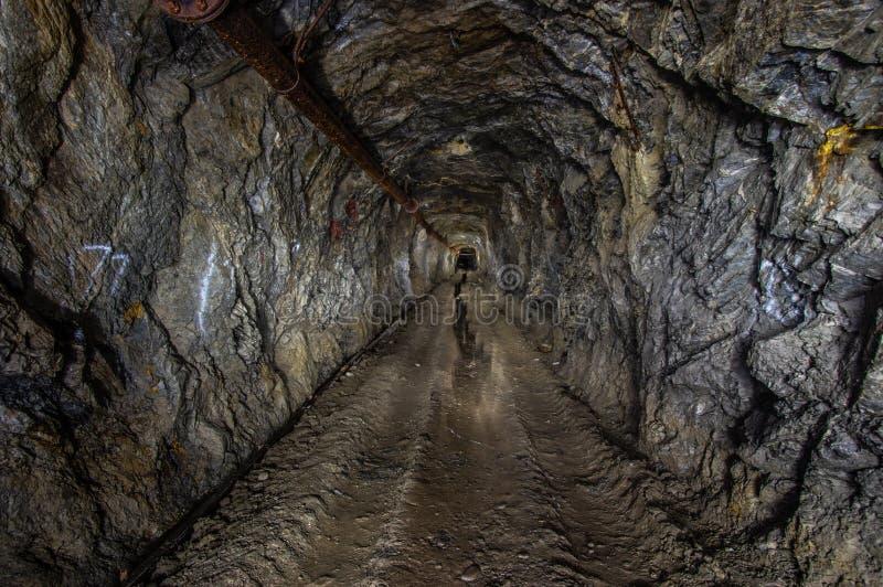 золотодобывающий рудник старый стоковая фотография