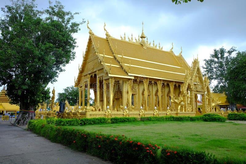 Золотой тайский висок стоковые фотографии rf