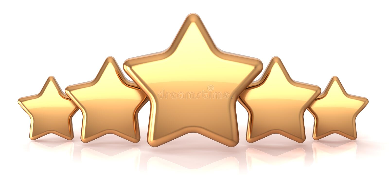 Золото играет главные роли золотистая награда обслуживания звезды 5