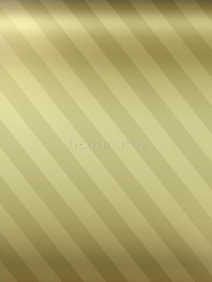 золото металлические тонизированные 2 предпосылки иллюстрация вектора