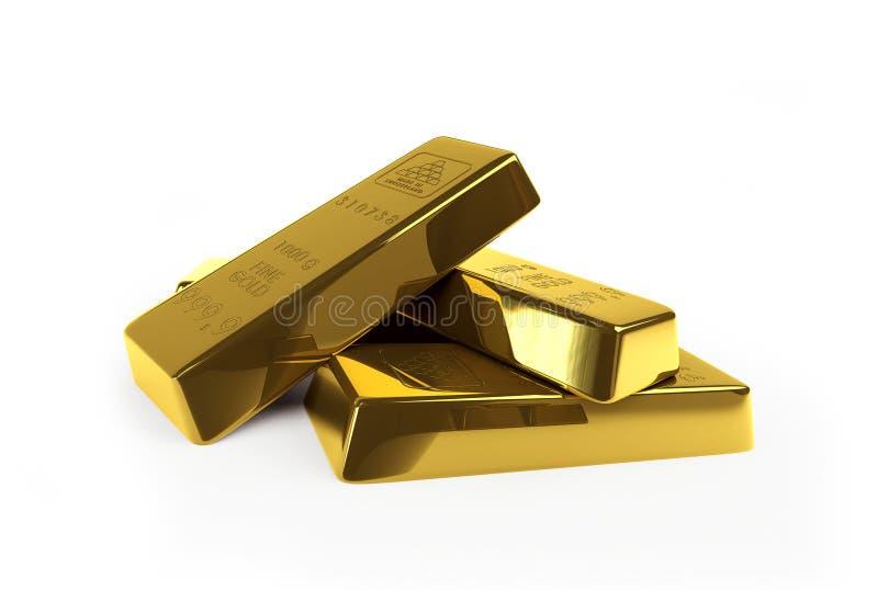 золото миллиарда иллюстрация штока