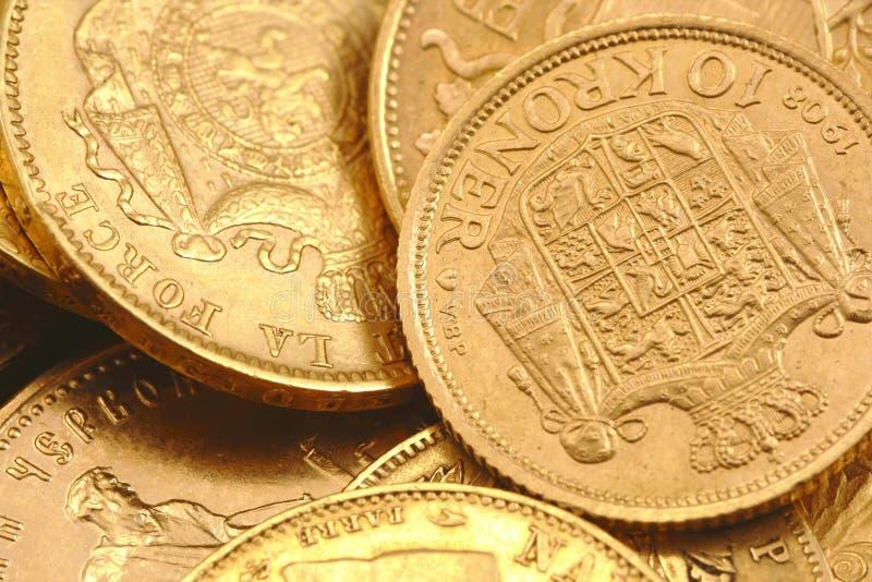 золото монеток стоковая фотография rf
