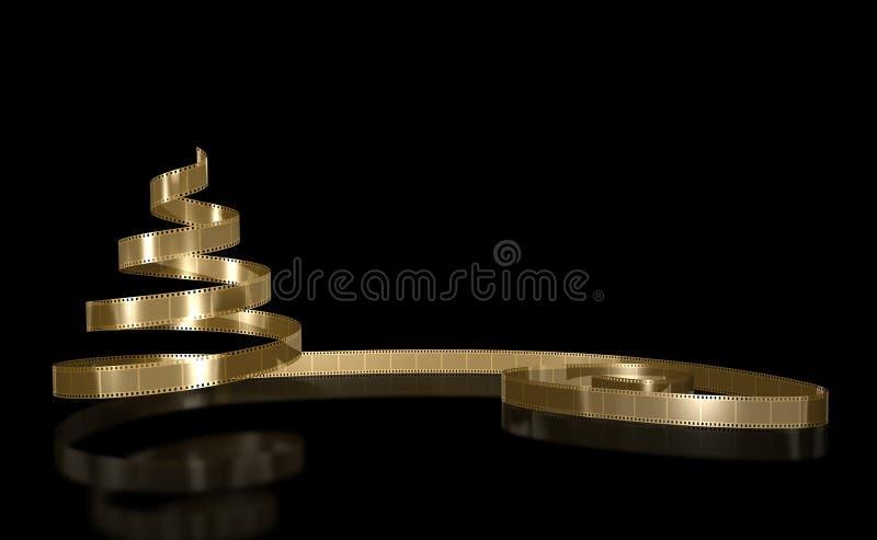 золото пленки иллюстрация вектора