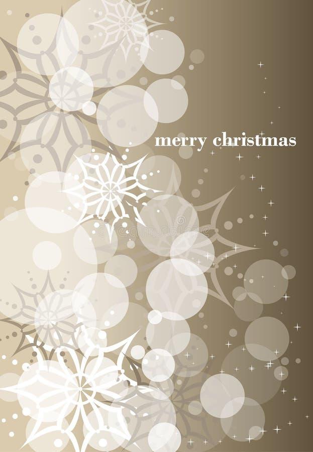 золото рождества предпосылки иллюстрация штока