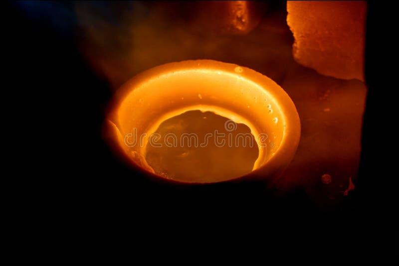 золото сплавливания стоковые фото