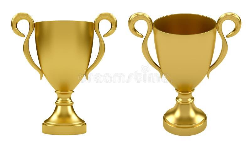 золото чашки бесплатная иллюстрация