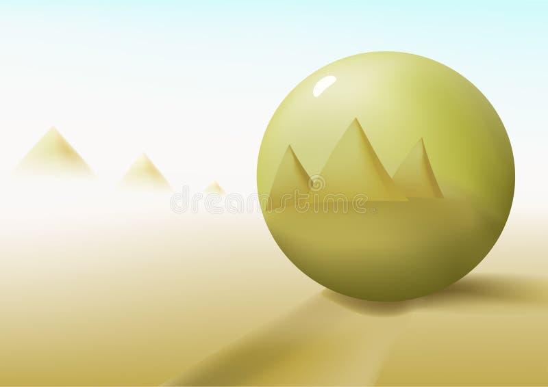 золото шарика иллюстрация вектора