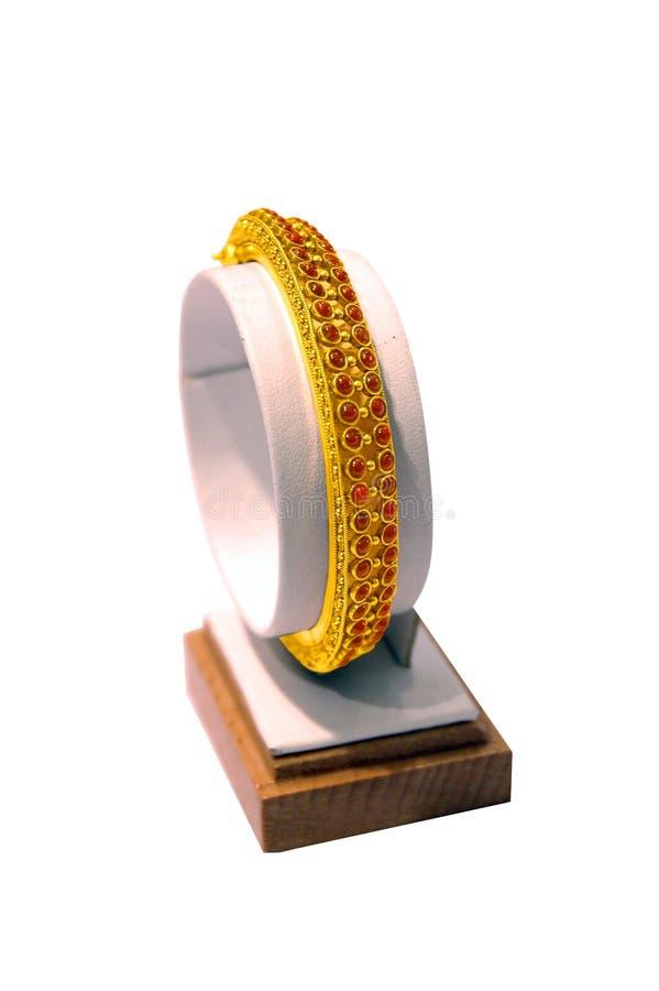 золото bangles стоковые изображения rf