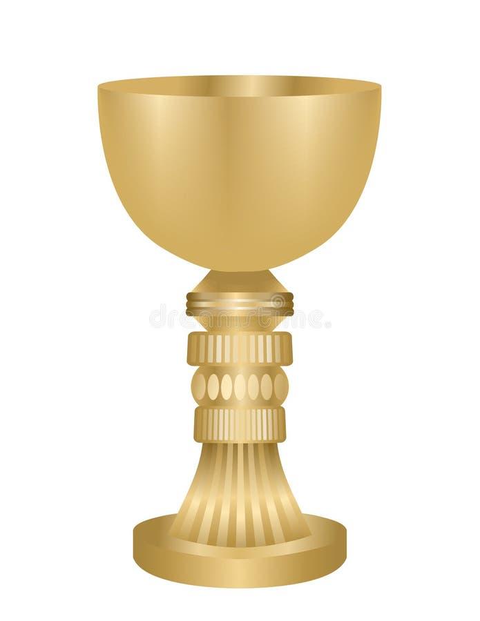 золото chalice иллюстрация штока